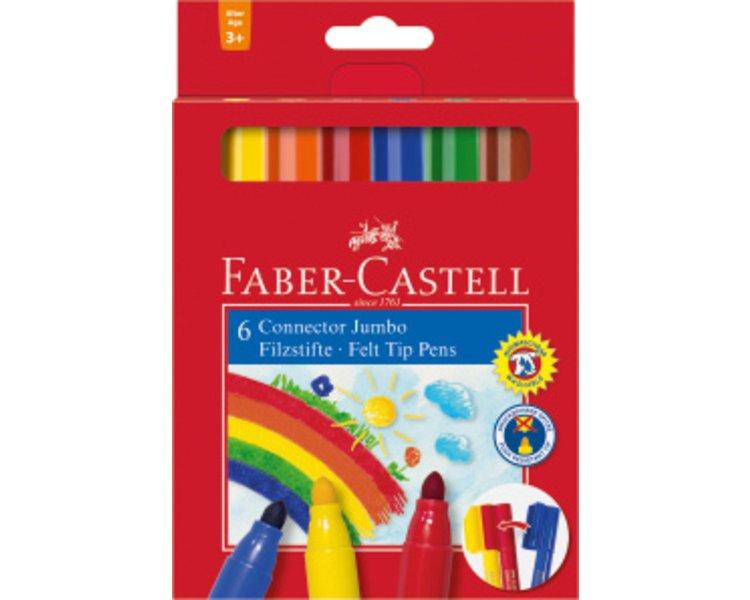 Faber Castell 125099 Einzelfarbe CONNECTOR Schwarz