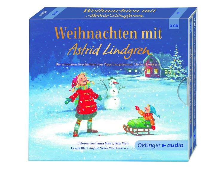 weihnachten mit astrid lindgren 3 cd oetinger 0808. Black Bedroom Furniture Sets. Home Design Ideas