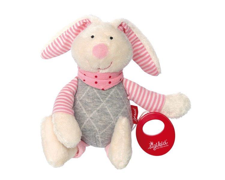 72daab33e8 Spieluhr Hase rosa Urban Baby - SIGIKID 39035